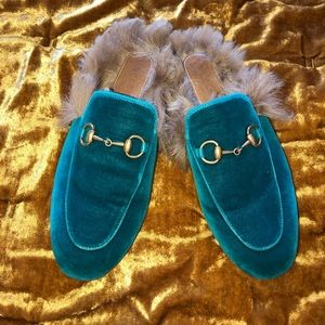 ***WMNS GUCCI PRINCETOWN LEATHER SLIPPER***